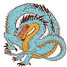 « Dragon bleu » par Tirmes