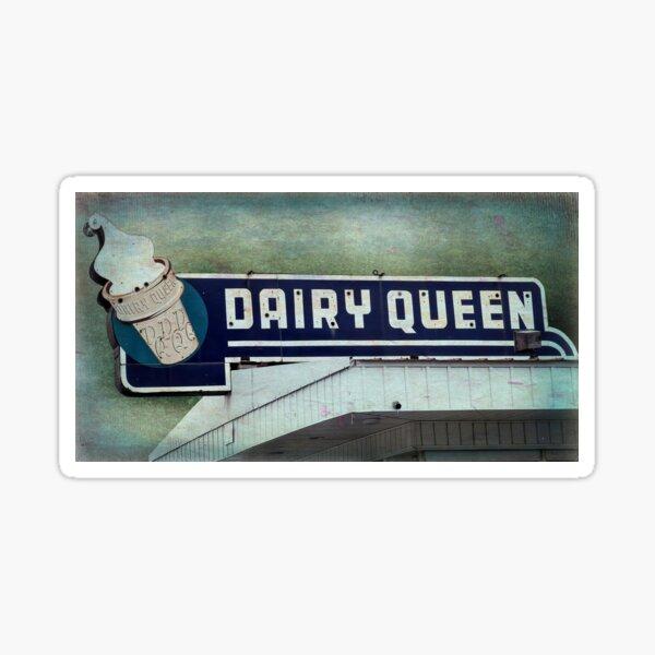 Vintage DQ Sign Sticker