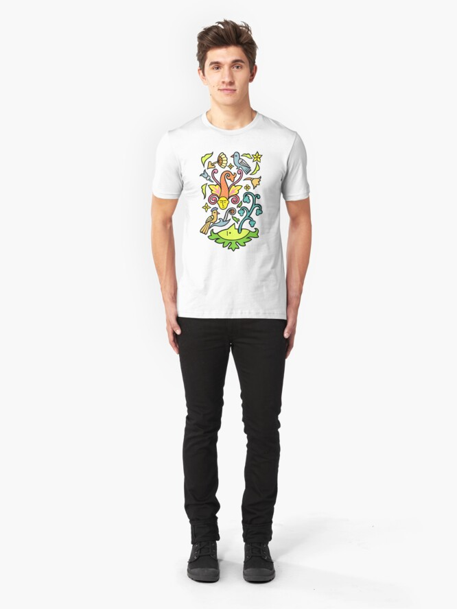 Alternate view of My nature Slim Fit T-Shirt