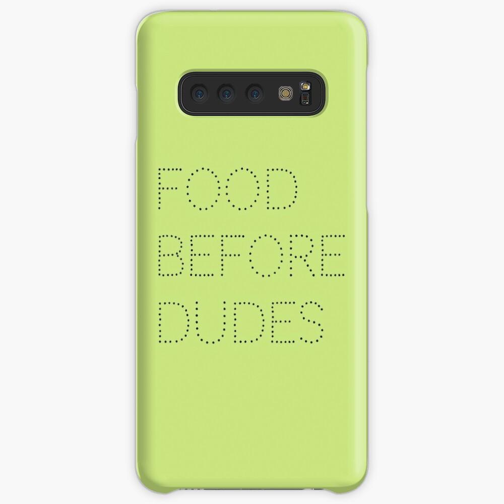 Food Before Dudes Samsung Galaxy Snap Case