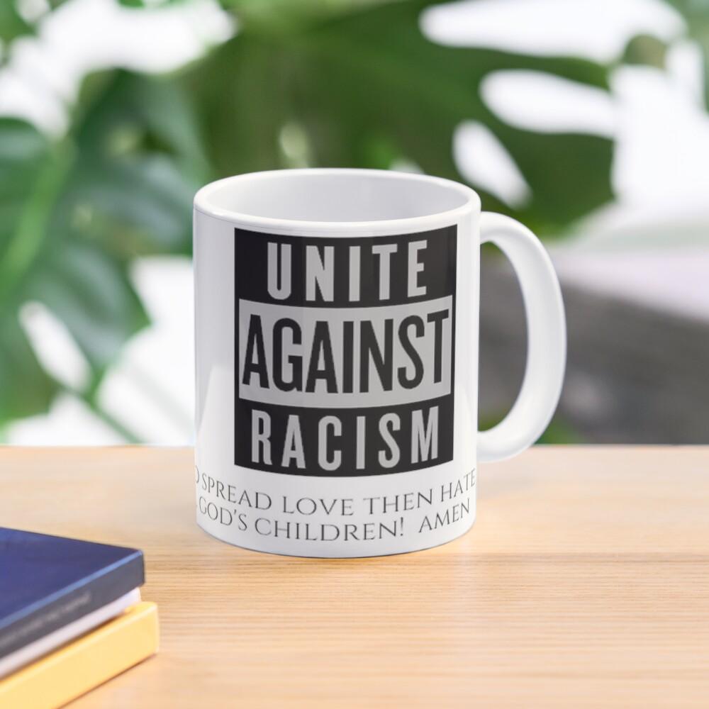 World Peace Friendship Club Unite Against Racism Coffee Mug 17902 Mug