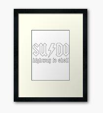 SUDO - Highway to Shell Framed Print