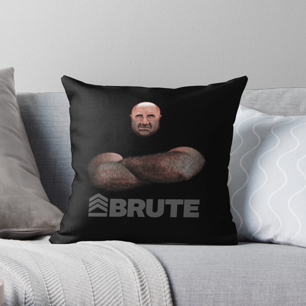 Brute by Simon 2018 Throw Pillow
