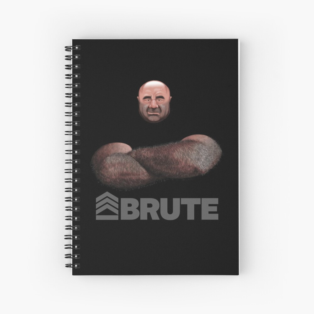 Brute by Simon 2018 Spiral Notebook