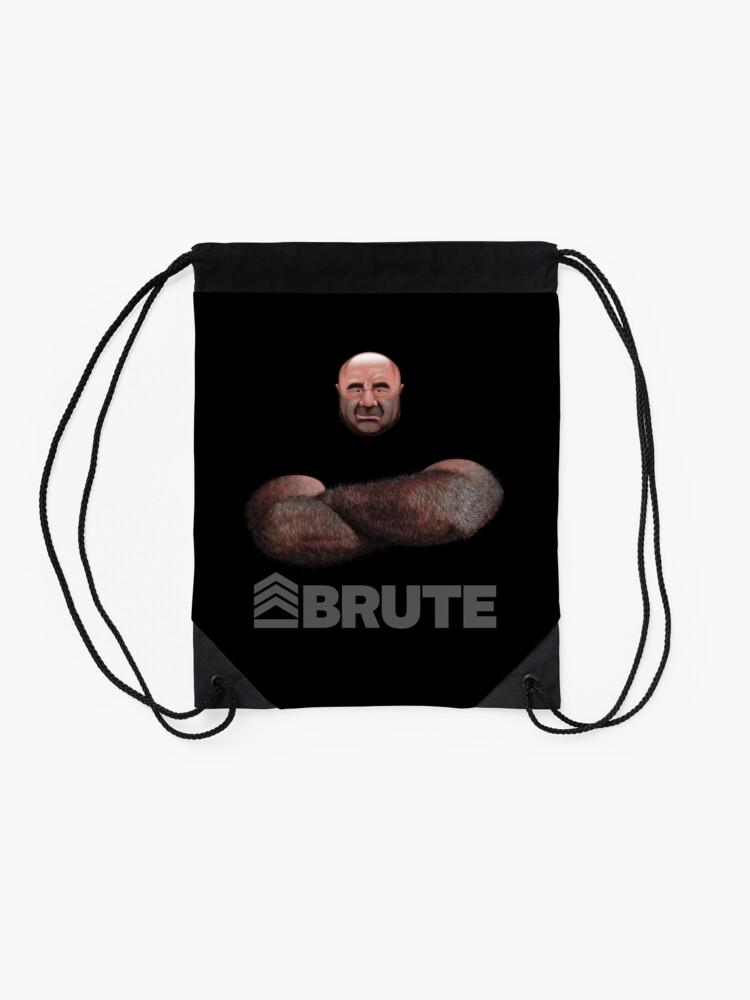 Alternate view of Brute by Simon 2018 Drawstring Bag