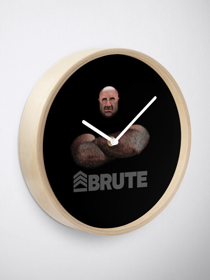 Alternate view of Brute by Simon 2018 Clock