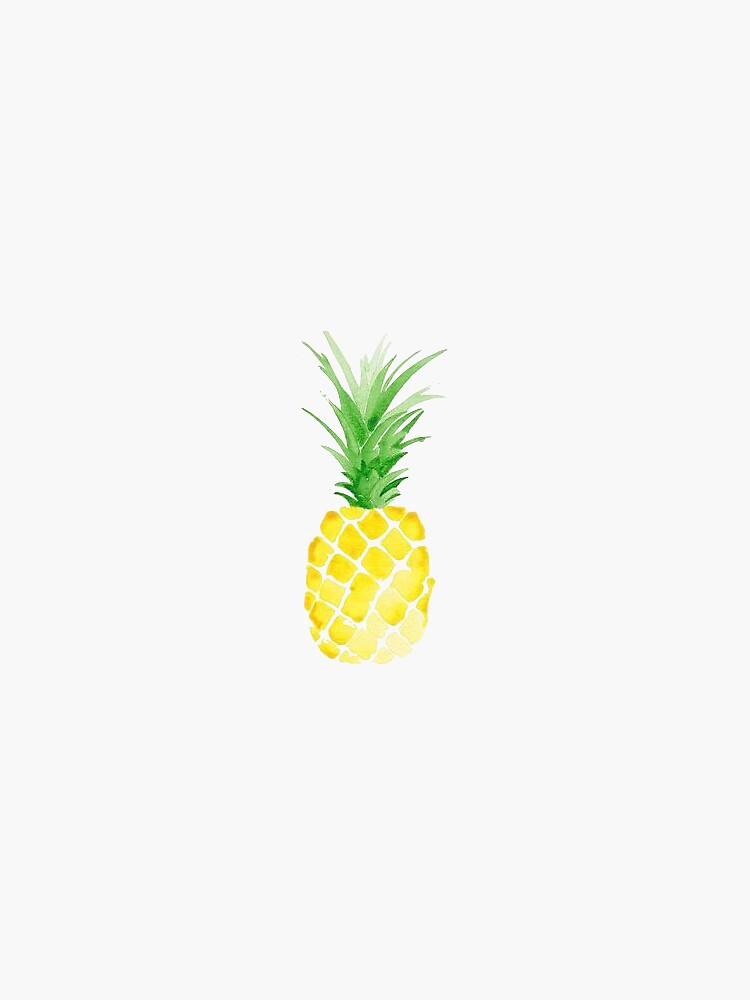 Pineapple Sticker by kkram7