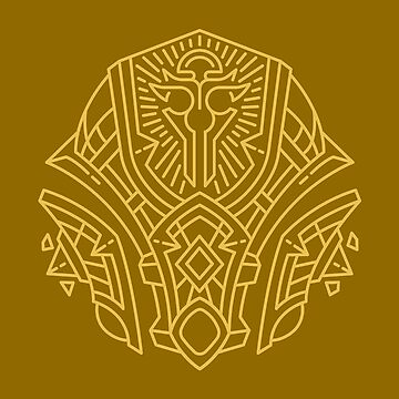 Forged From Light – Allied Race Crest (color) by dcmjs