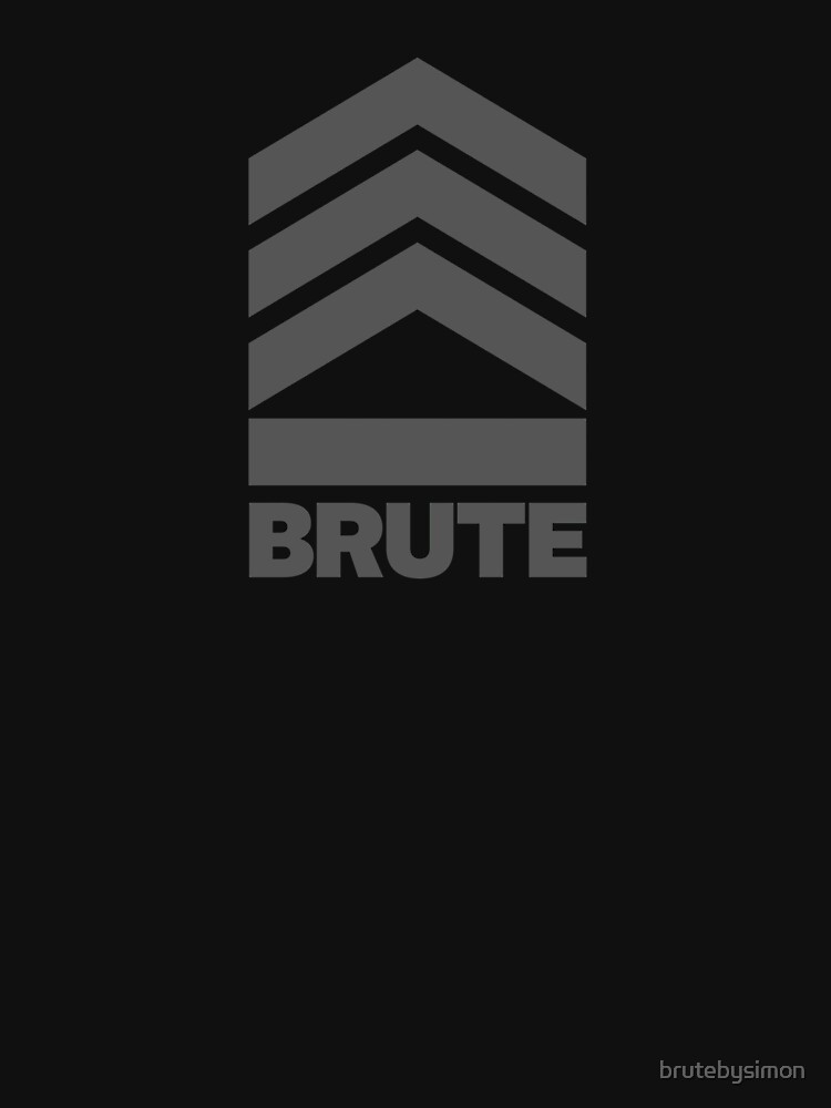 Brute Logo de brutebysimon