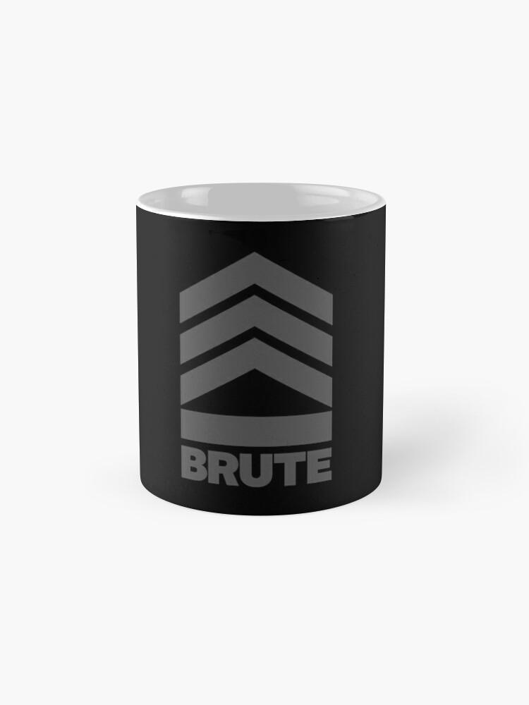 Alternate view of Brute Logo Mug