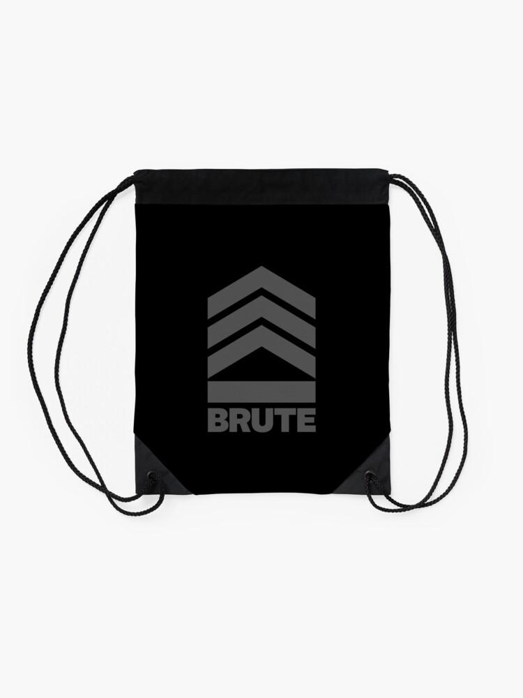 Alternate view of Brute Logo Drawstring Bag