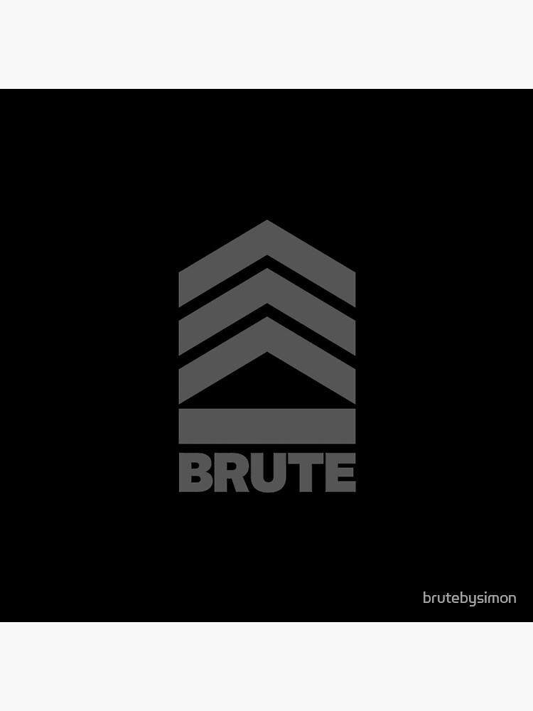 Brute Logo by brutebysimon