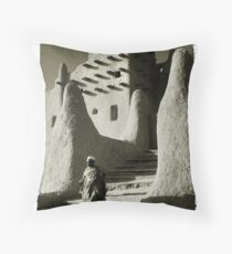 Djenné, Mali #11 Throw Pillow
