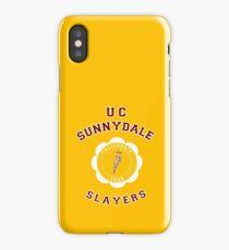 The Sunnydale Slayers! UC Sunnydale iPhone Case/Skin