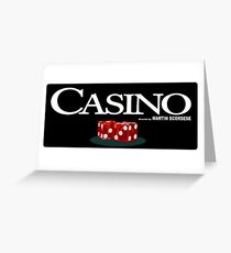 casino scorsese Greeting Card