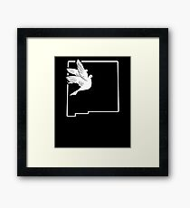 Hunting Bird Dove Hunting Gear New Mexico Framed Print