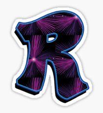 R - rays Sticker