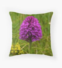 Pyramidal Orchid - iPhone Case Throw Pillow