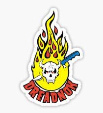 Dreadnok Tattoo (Distressed, Color) GI Joe Cobra Zartan Sticker