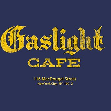 Gaslight Cafe - distressed (yellow) by jotibbs