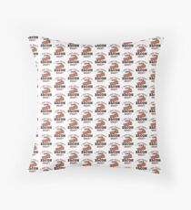 I Just Really Like Bacon Funny Quote T-Shirt Throw Pillow