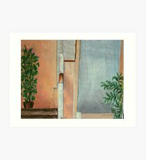 Under The Stairs Art Print