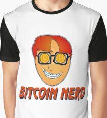 Nerd Bitcoin T-shirt  Graphic T-Shirt