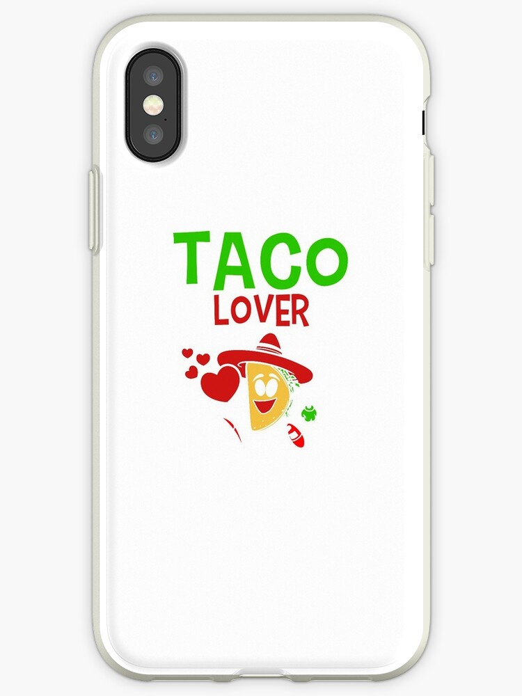 'Taco Lover mom day ' iPhone Case by Jandui Santos