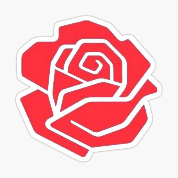 Labour Rose Light Sticker