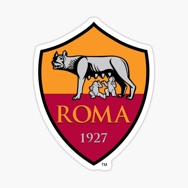 AS Roma Pegatina