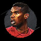 Geometric Pogba by Mark White
