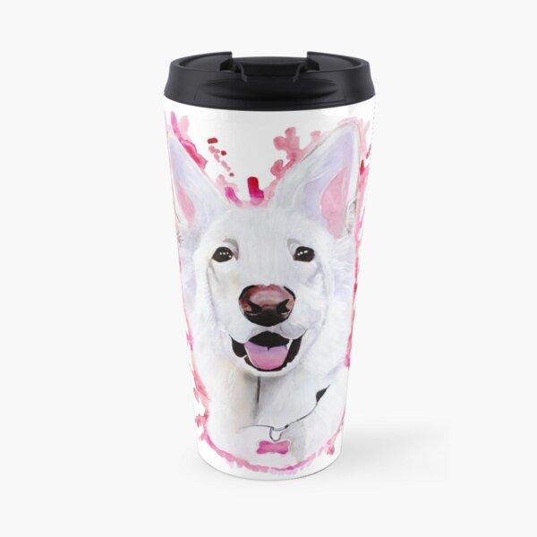 White Swiss Shepherd Travel Mug