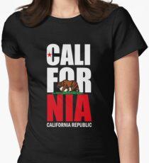 California Republic Womens Fitted T-Shirt