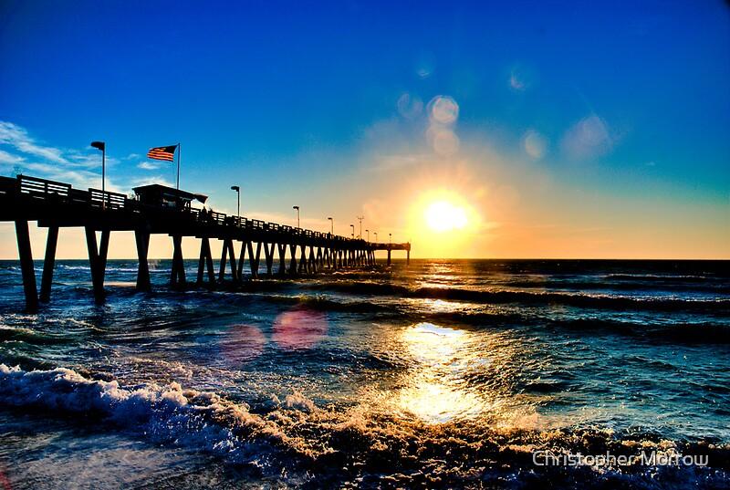 Quot Sunset Sharkys Pier Venice Beach Florida Quot By