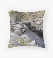 granite crossing Throw Pillow