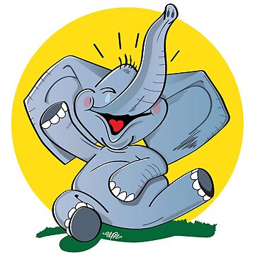 Funny Elephant by stfn