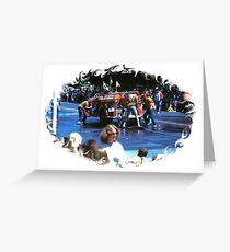 FIREMANS MUSTER Greeting Card