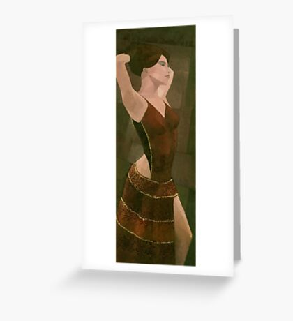 Spanish Dancer Greeting Card