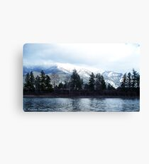 Springtime in Montana Canvas Print