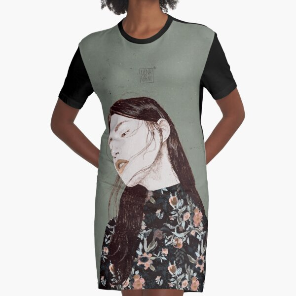 THE REVENGE ELENA GARNU Graphic T-Shirt Dress