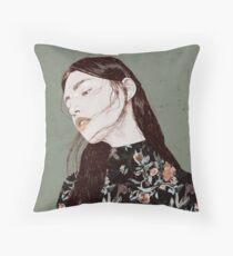 THE REVENGE ELENA GARNU Throw Pillow