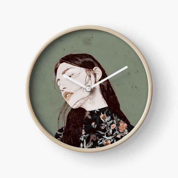 THE REVENGE ELENA GARNU Clock