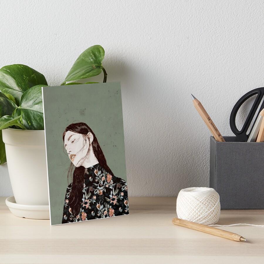 THE REVENGE ELENA GARNU Art Board Print