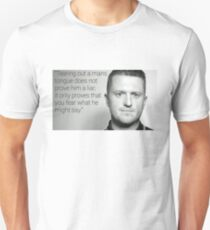 Tommy Robinson Quote Unisex T-Shirt