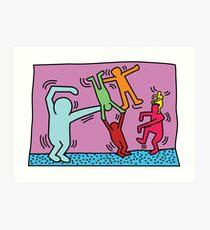 Keith Haring x Govinda Art Print