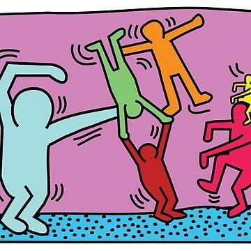 Keith Haring x Govinda by g0vinda