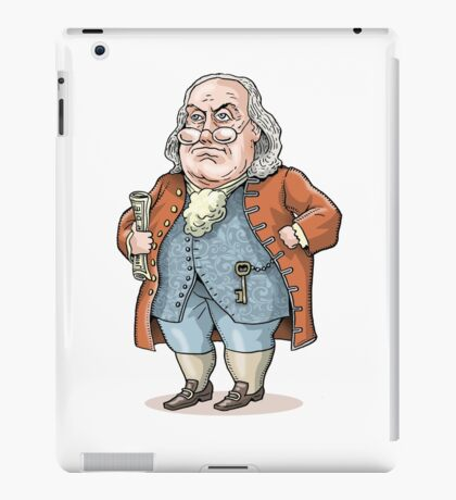 Benjamin Franklin iPad Case/Skin