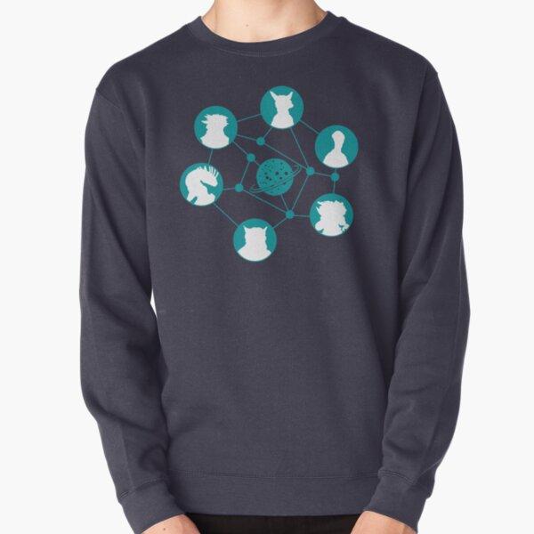 Stellaris characters. Pullover Sweatshirt
