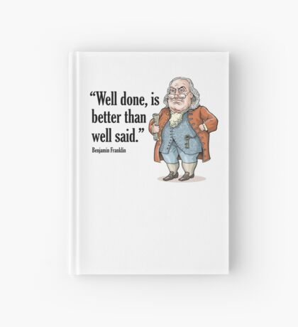 Benjamin Franklin Hardcover Journal