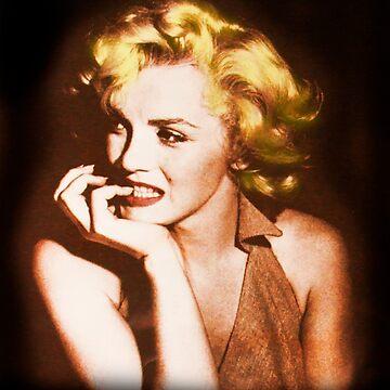 Norma Jeane Mortenson, aka Marilyn IV by alabca